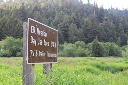 elk meadow sign