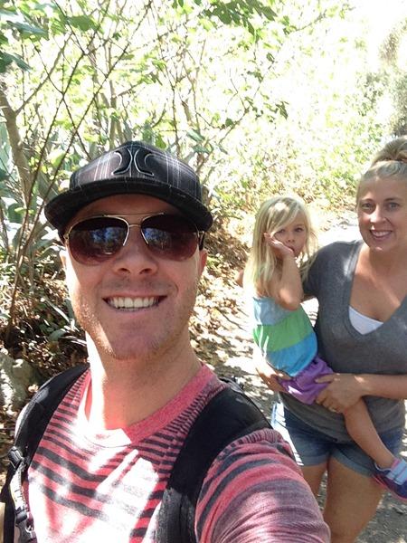 hiking holy jim falls