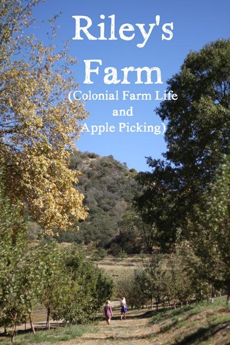 Riley's Farm Colonial Farm Life