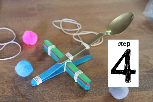 how to build a small catapult step by step