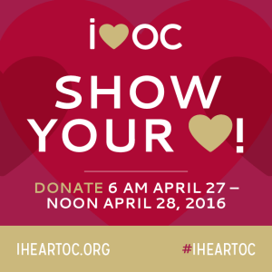 #iheartoc OCCF Giving Day 2016