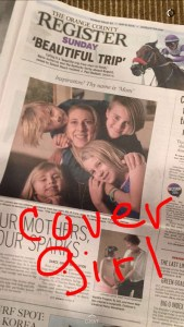 OC Register Mother's Day cover story