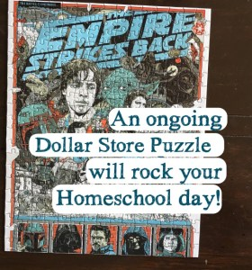 How a Dollar Store Puzzle Rocked our Homeschool Day