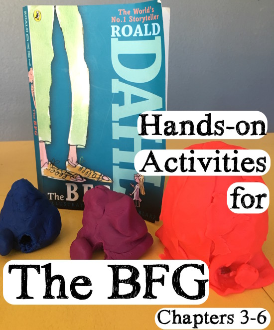 hands-on activities for The BFG