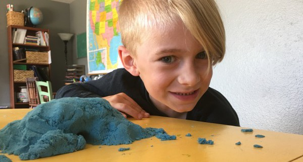 BFG's cave out of kinetic sand