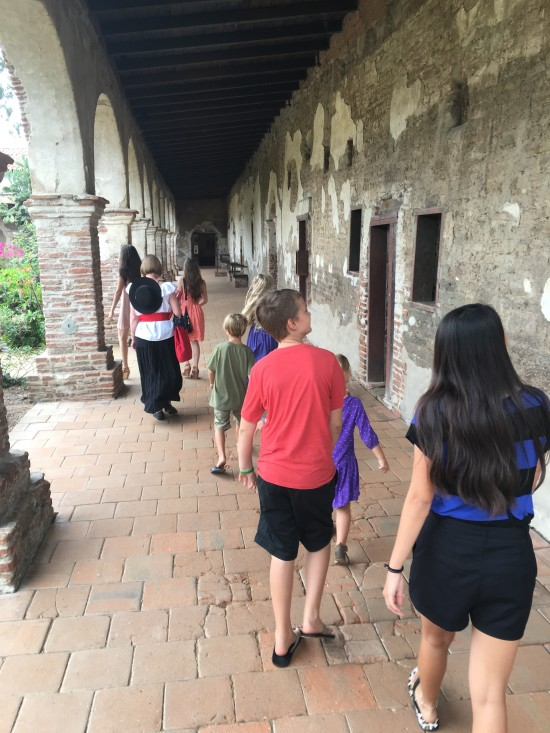 walking the mission san juan