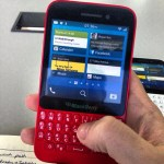 BlackBerry R10 se filtra en color rojo
