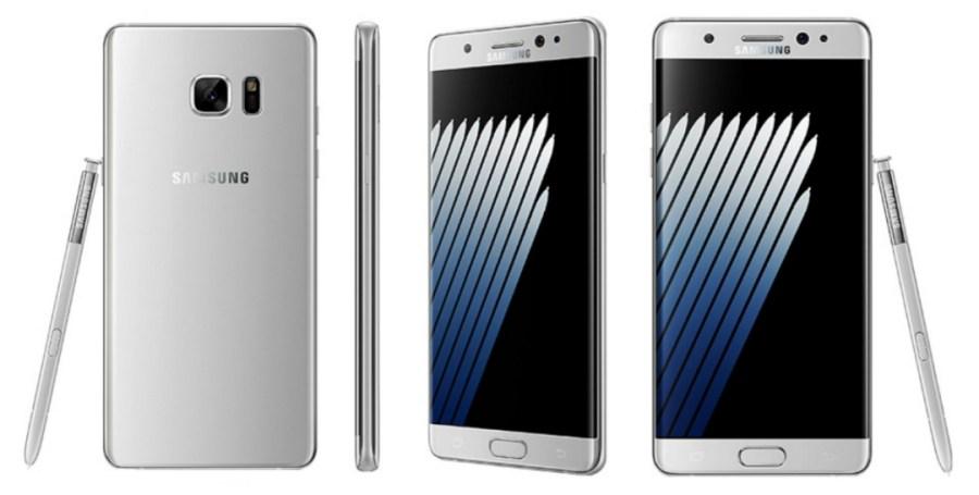 Samsung Galaxy™ Note7 plateado