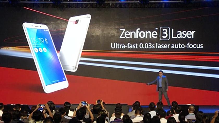 Zenfone tres Laser