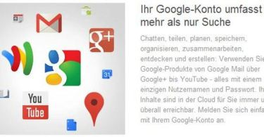 google konto screenshot