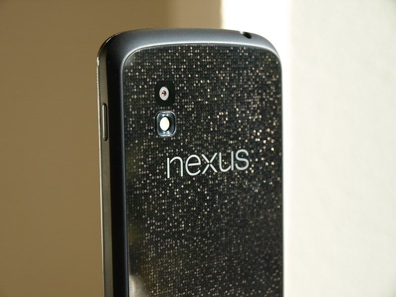 Nexus 4 Rückseite Test
