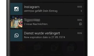 WhatsApp Account bis 1974