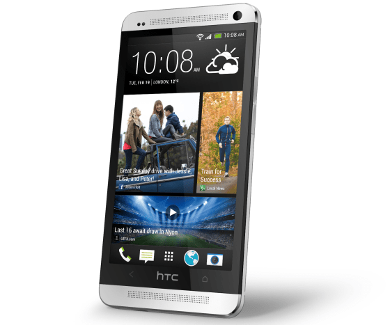 HTC_one_silver