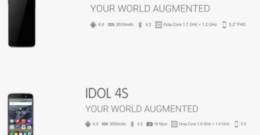 alcatel idol 4 leak