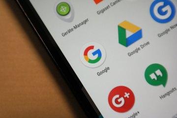 Google Apps Header