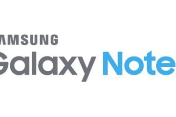 Samsung Galaxy Note 7 Schriftzug