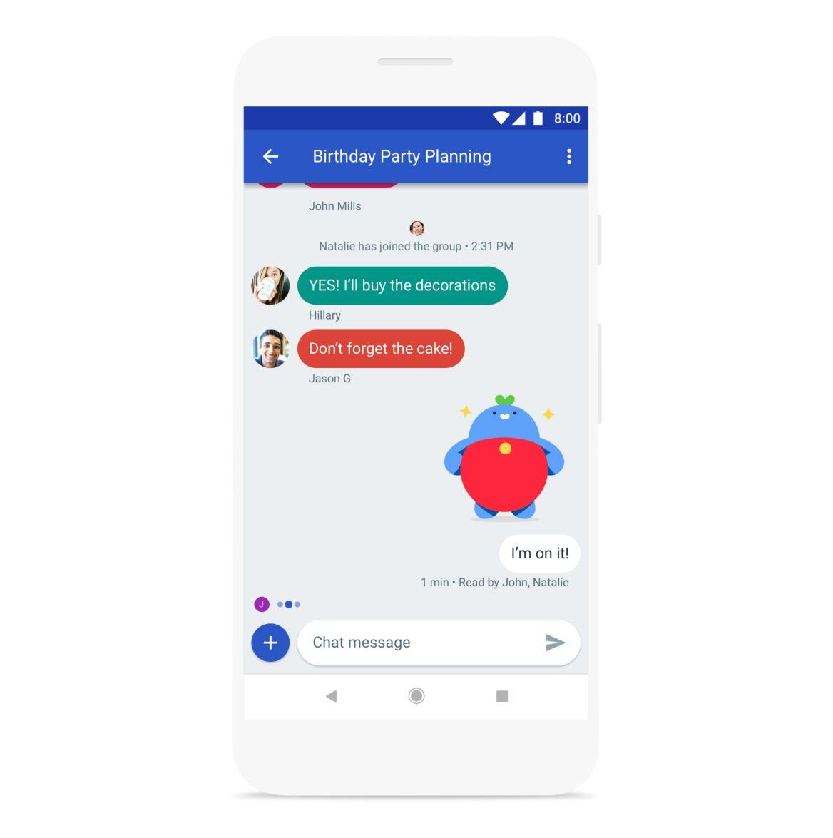 Google entwickelt schon wieder einen Messenger