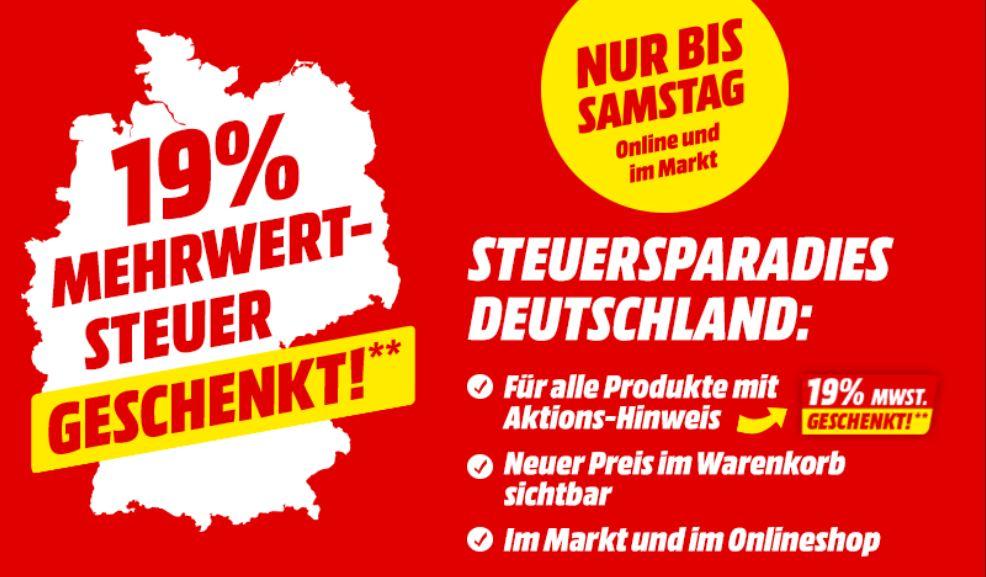 MediaMarkt & Saturn: 16% Rabatt auf viele Produkte