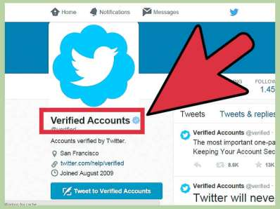 How to get a Twitter verified account 2