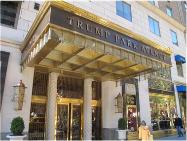 Donlad Trump Park Avenue