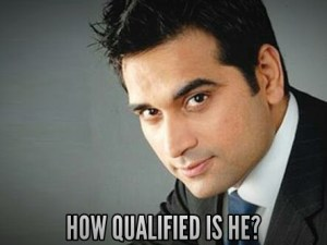 How qualified is humayun saeed
