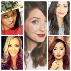 Female youtube vloggers