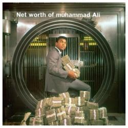 Net worth of Muhammad Ali