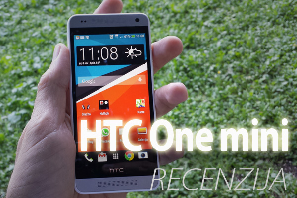 Recenzija: HTC One mini (Video)