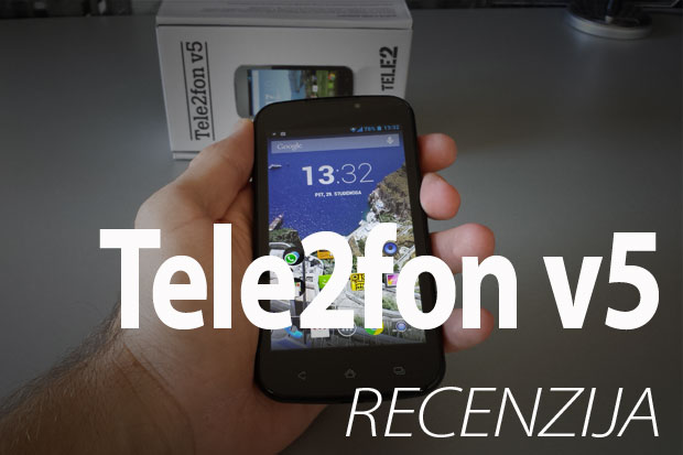 Recenzija: Tele2fon v5 (Video)