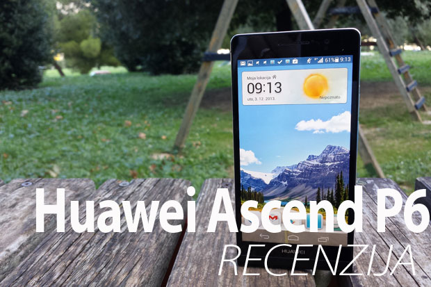 Recenzija: Huawei Ascend P6 (Video)