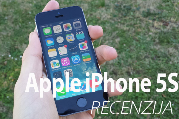 Recenzija: Apple iPhone 5S
