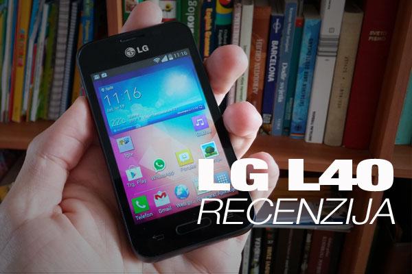Recenzija: LG L40