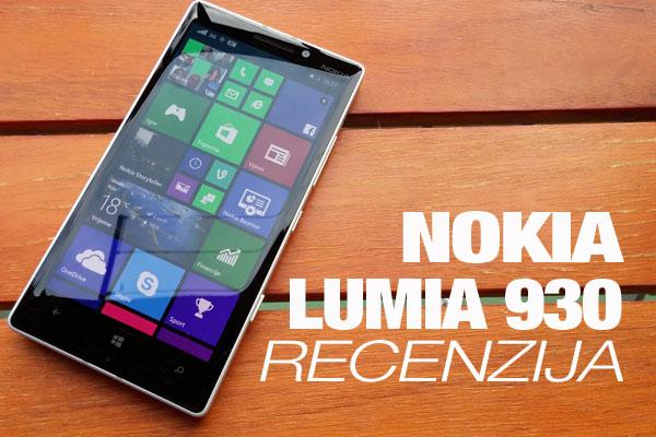 Recenzija: Nokia Lumia 930