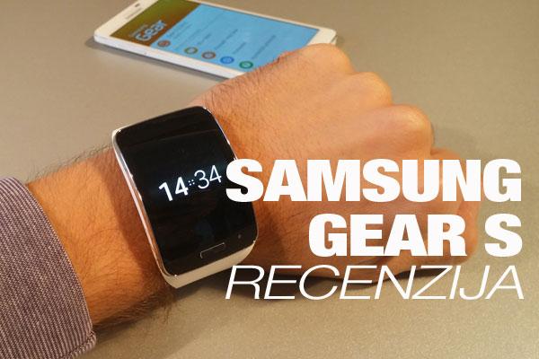 Recenzija: Samsung Gear S