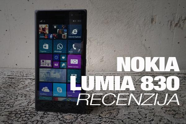 Recenzija: Nokia Lumia 830
