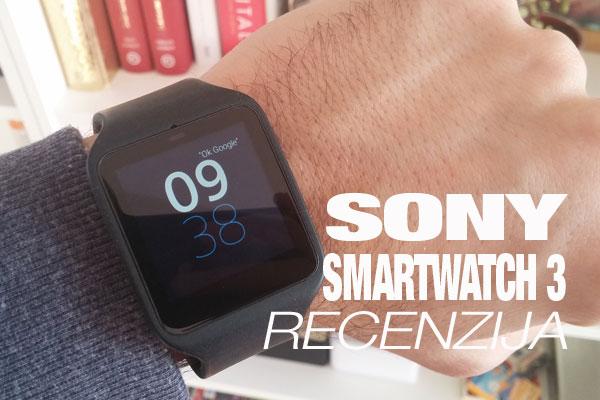 Recenzija: Sony Smartwatch 3