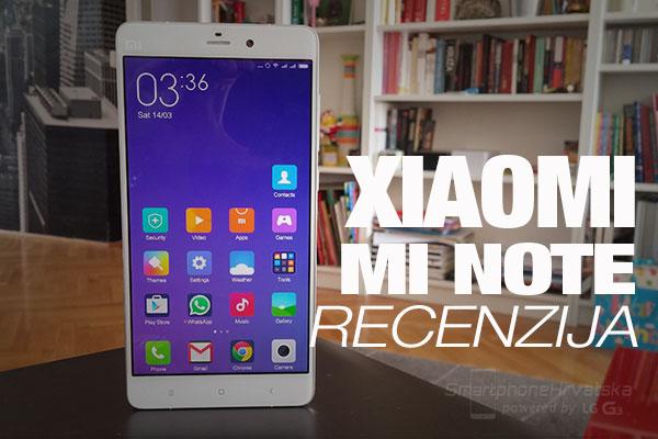 Recenzija: Xiaomi Mi Note