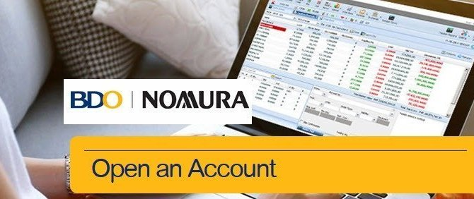 How to Open a Trading Account Online  in Philippine Stock Market with BDO Nomura