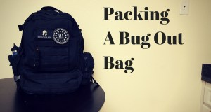 PackingA Bug OutBag