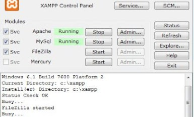 how to run apache server and ISS server on the same machine 1