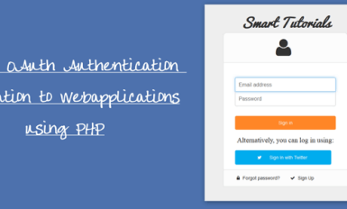 Integrate Twitter Oauth Login Using PHP