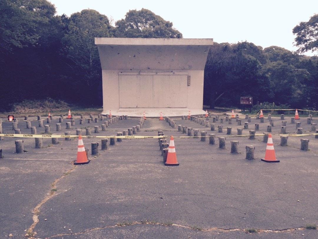 An abandoned outdoor amphitheater in New Hampshire. It was probably hard to imagine it empty at the height of its glory.