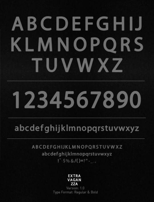 minimalisticfonts12 15 Free Minimalistic Designs Fonts