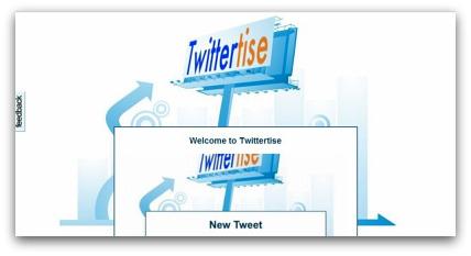 Twittertise tool