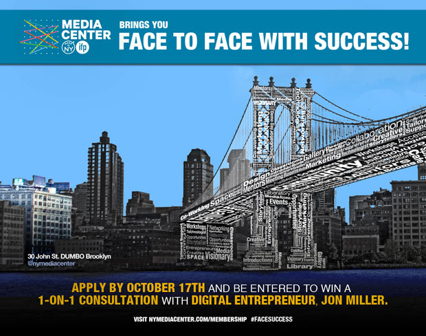 Face to Face with Success contest by Made in New York Media Center by IFP