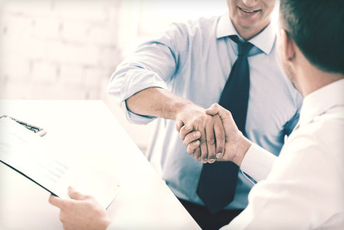 Business partnerships with vendors
