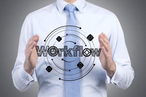 Software for workflow management