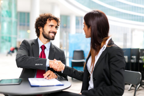 Deal on a business proposal