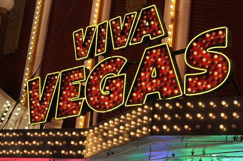 Vegas signage
