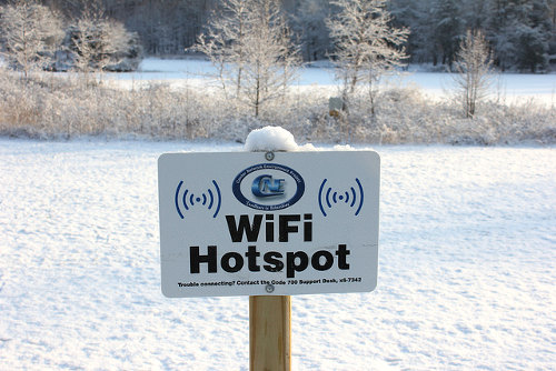 Wireless broadband (WiFi) hotpsot